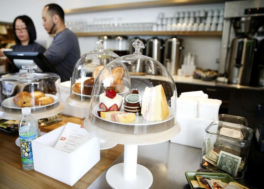 """""""Art-inspired"""" cakes were originally designed by Caitlin Williams Freeman. Now a new vendor is selling them at the SFMOMA cafe. Photo: Connor Radnovich, The Chronicle"""