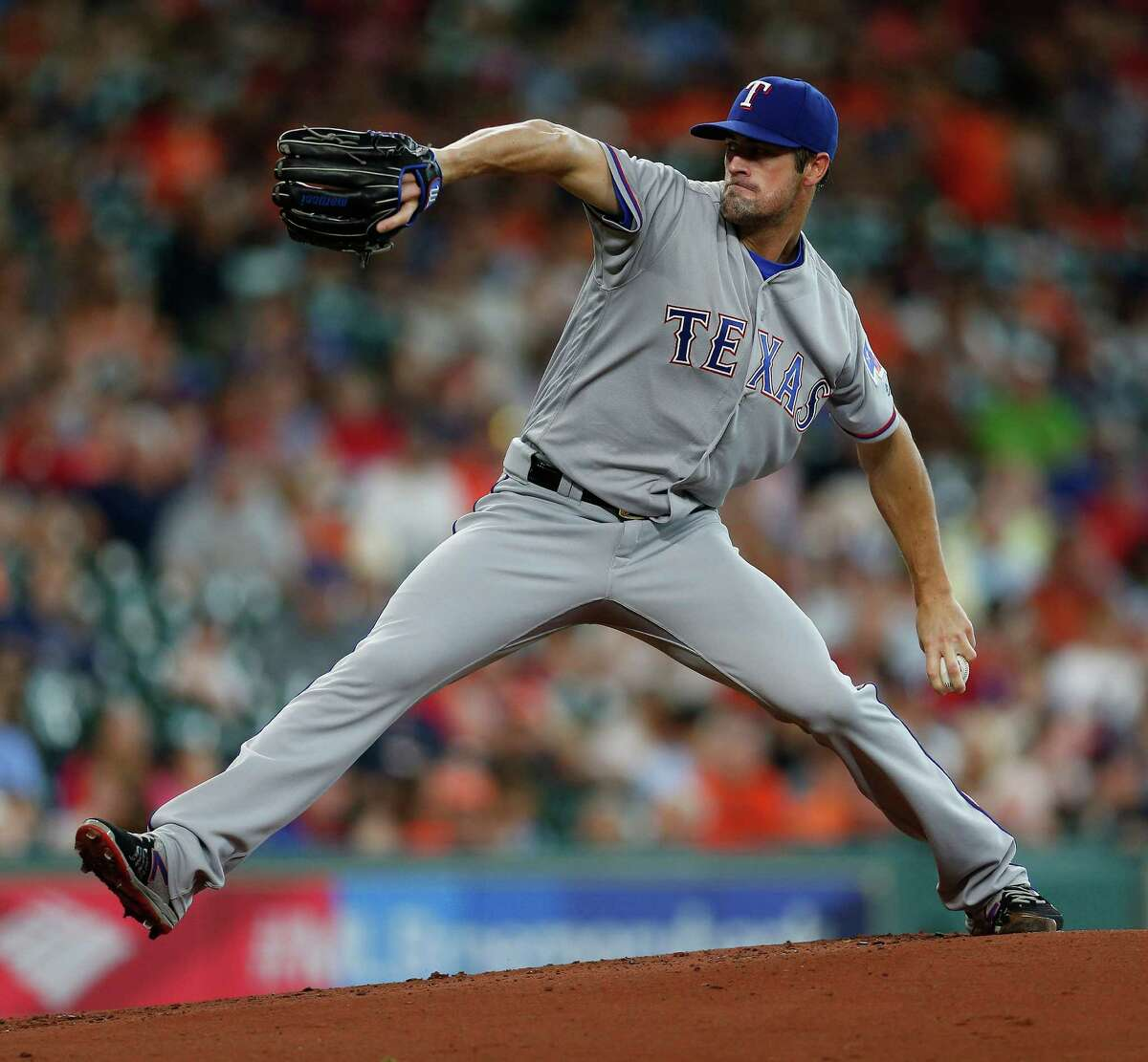 Hamels was snagged by the Phillies out of San Diego's Rancho Bernardo High School in 2002 and six years later was the ace of Philadelphia's 2008 World Series winner, going 4-0 in five postseason starts and taking Series and NLCS MVP honors. Durability has been a trademark, with the lefthander failing to reach 200 innings just once in the last eight years. After posting a 114-90 record in 10 seasons with the Phillies, Hamels has gone 12-2 since a midseason trade sent him to the Rangers last year.