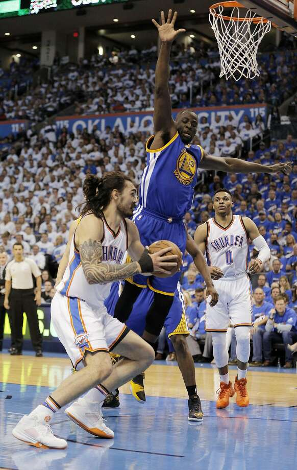Draymond Green came within five ballots of being a unanimous All-Defensive First Team choice. Photo: Carlos Avila Gonzalez, The Chronicle
