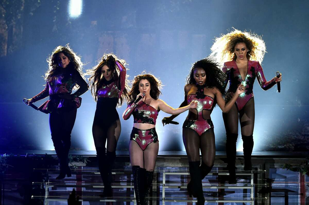 Is Fifth Harmony trying to challenge Destiny's Child in outfit-matching? It's going to be tough, but they've put in good effort.