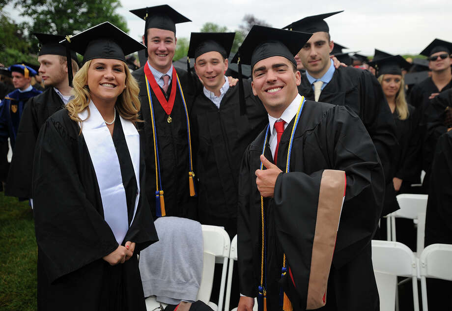 The Fairfield University graduation in Fairfield, Conn. on Sunday, May 22, 2016. Photo: Brian A. Pounds / Hearst Connecticut Media / Connecticut Post