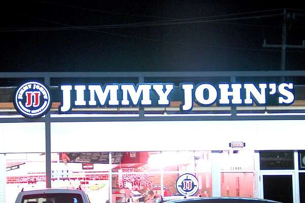Police are searching for a man who robbed a Jimmy John's on Nacogdoches Road on Sunday night.