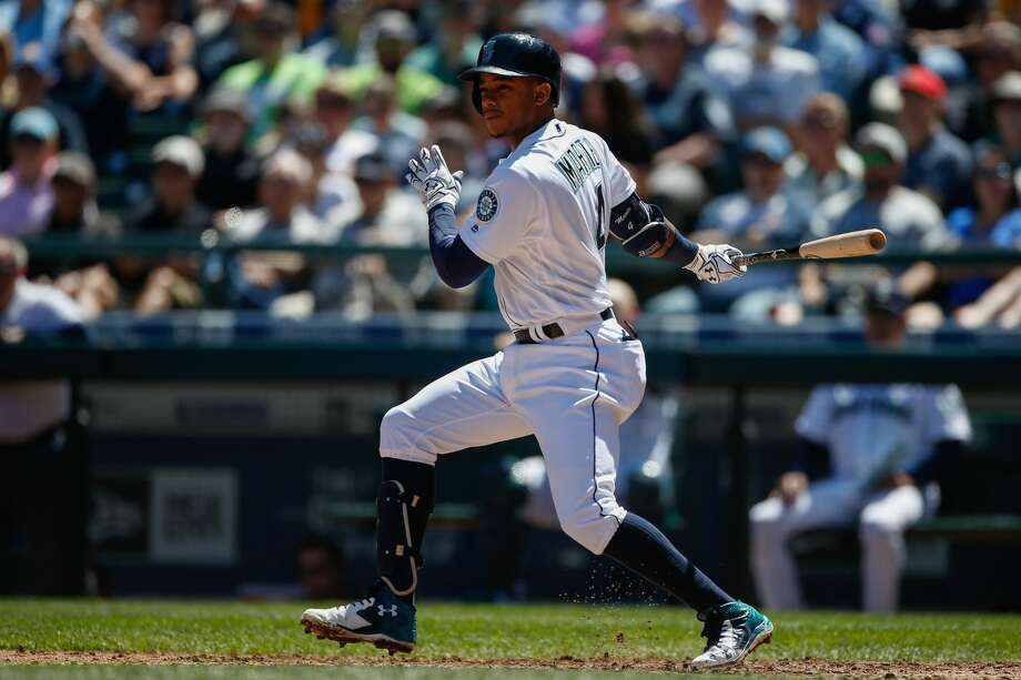 SEATTLE, WA - MAY 11:  Ketel Marte #4 of the Seattle Mariners bats against the Tampa Bay Rays at Safeco Field on May 11, 2016 in Seattle, Washington.  (Photo by Otto Greule Jr/Getty Images) Photo: Getty Images