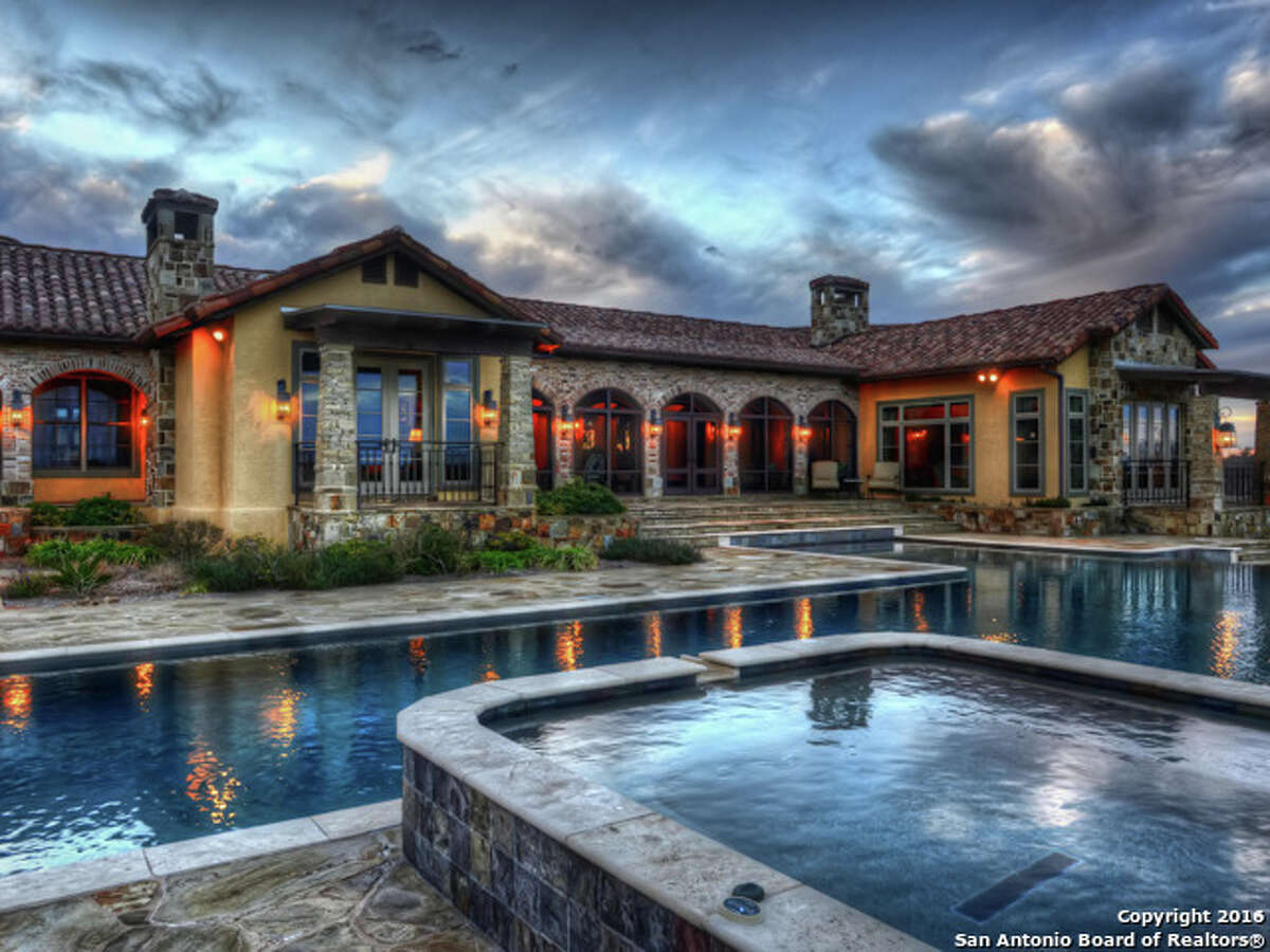 The home is situated in the Champee Springs Ranches community on Boerne's northwest side.