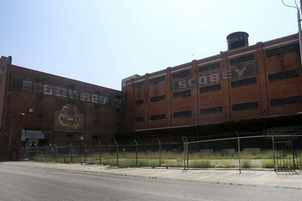 Local developer Ed Cross is asking the city to rezone the industrial-zoned Scobey complex, and the city Zoning Commission is expected to consider the request at its June 21 meeting.