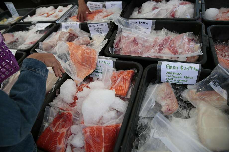Seafood availability can change from season to season. Photo: RAMIN RAHIMIAN, Special To The Chronicle