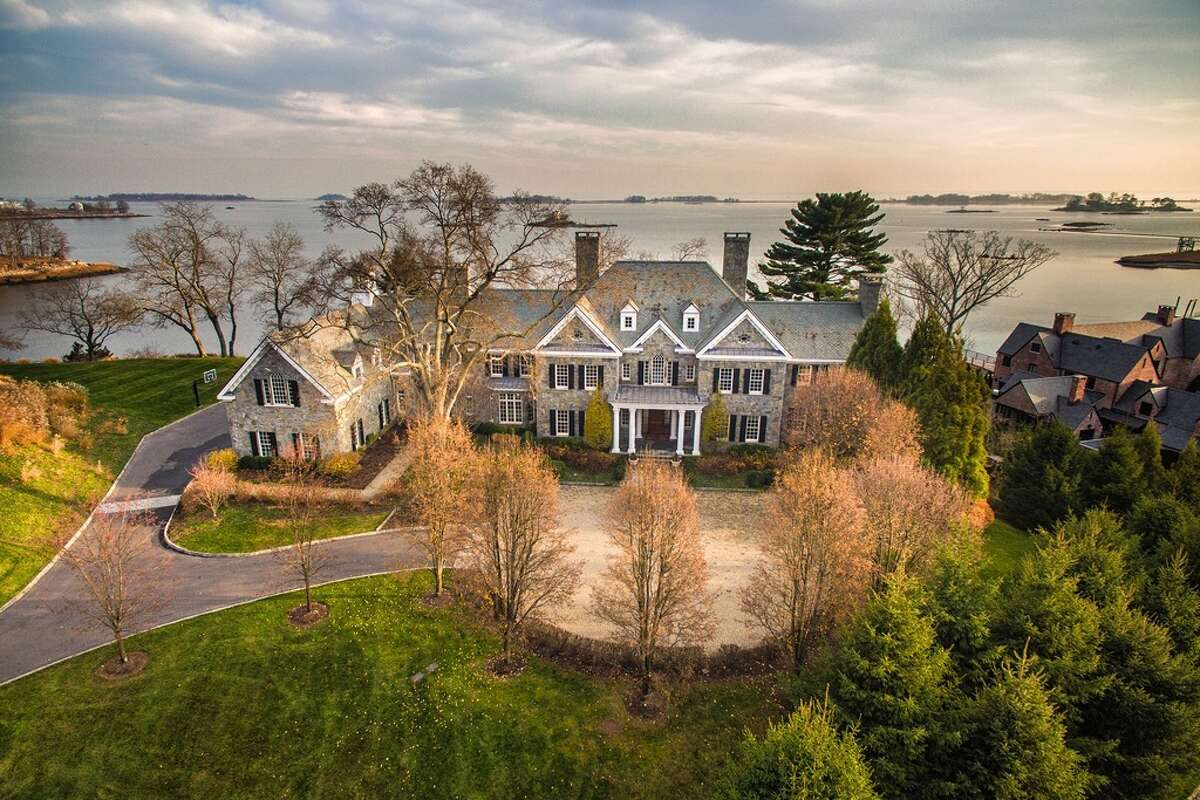 12 Valley Rd, Norwalk, CT 06854 7 beds 13 baths 12,768 sqft Features: Heated infinity pool, theater, wine cellar, gym, spa, dock, pool bath, fire pit, View full listing on Zillow