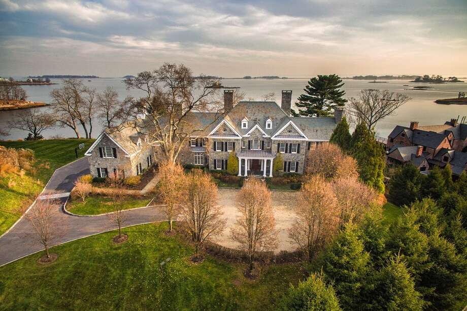 12 Valley Rd, Norwalk, CT 06854 7 beds 13 baths 12,768 sqft Features: Heated infinity pool, theater, wine cellar, gym, spa, dock, pool bath, fire pit,   View full listing on Zillow Photo: Zillow