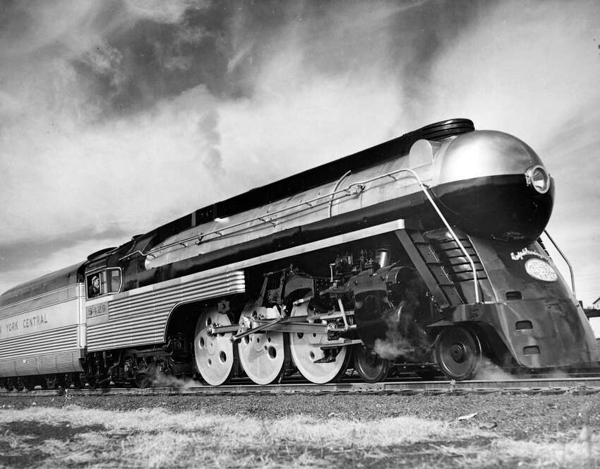Empire State Express Train. Taken November 18, 1941. Photo provided by New York Central System. (Times Union Archive)