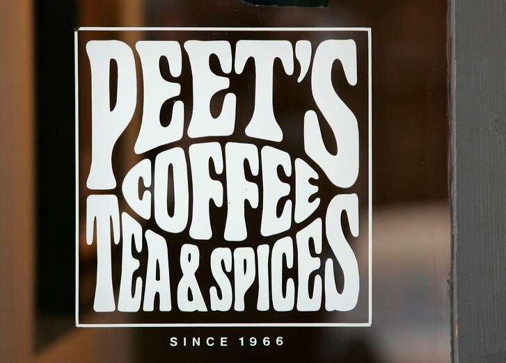 "peetscoffee_db_006.JPG A sign says ""Peet's Coffee Tea & Spices since 1966"" at Peet's Coffee & Tea, on Vine St. in Berkeley, CA, on Friday, August, 31, 2007.  photo taken: 8/31/07"