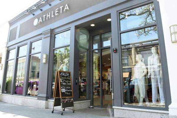 The new Athelta women's sportswear store located at 350 Greenwich Ave., Greenwich.
