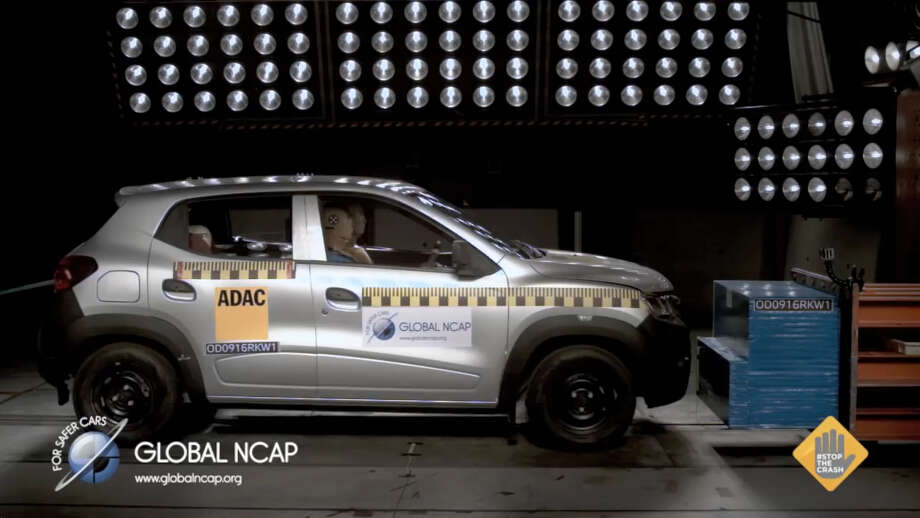 The Kwid, a crossover produced by French automaker Renault, recently scored zero stars in an Indian crash test conducted by Global NCAP, a non-profit organization that promotes public safety and health.Source: Global NCAP Photo: File/Global NCAP