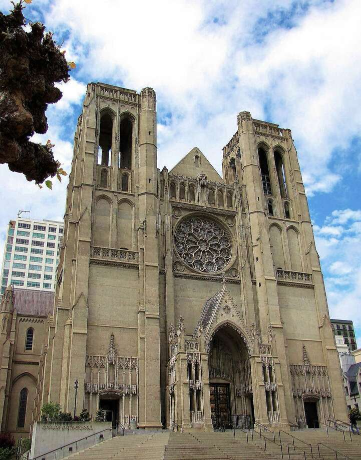 Grace Cathedral was built on the site of Charles Crocker's home, which burned in the 1906 quake. Photo: Stephanie Wright Hession