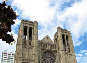 Grace Cathedral in Nob Hill.