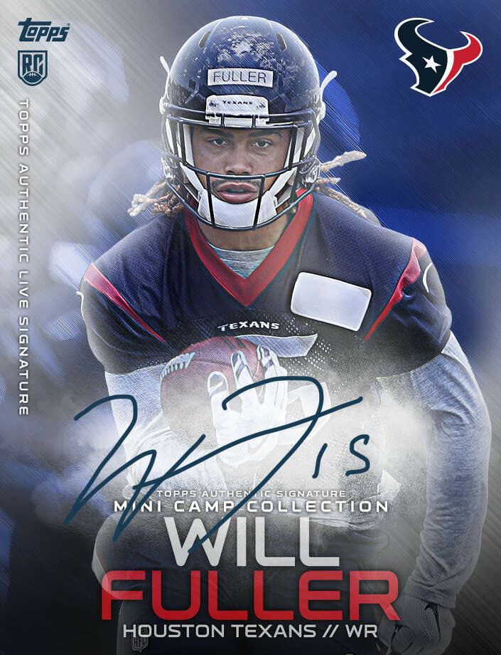 Trio of Texans rookies featured in Topps' new NFL Digital cards