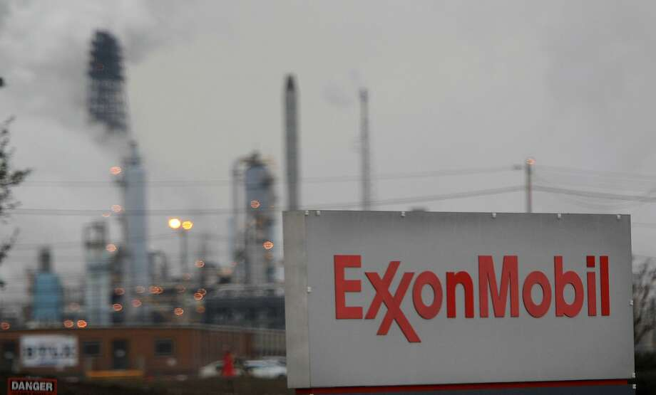 Exxon Mobil shares have been under pressure since the company disclosed disappointing fourth-quarter results in late January. Photo: Mayra Beltran, Houston Chronicle