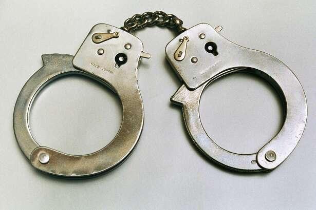 File photo of handcuffs.  ima28581