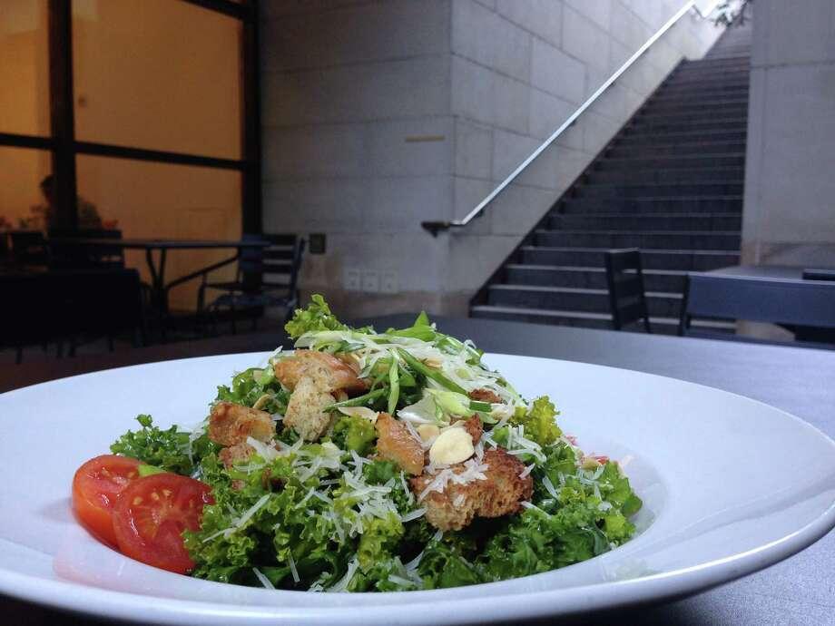 Kale salad at MFA Cafe at Museum of Fine Arts, Houston Photo: MFAH