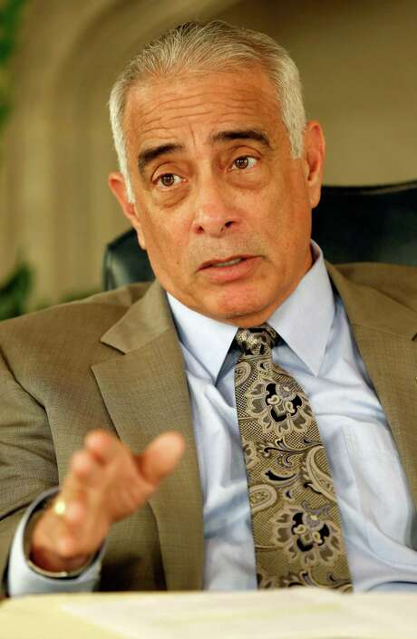 Sylvester Perez in 2014. He retired last year as superintendent of the San Antonio Independent School District. Photo: William Luther /San Antonio Express-News / © 2014 San Antonio Express-News