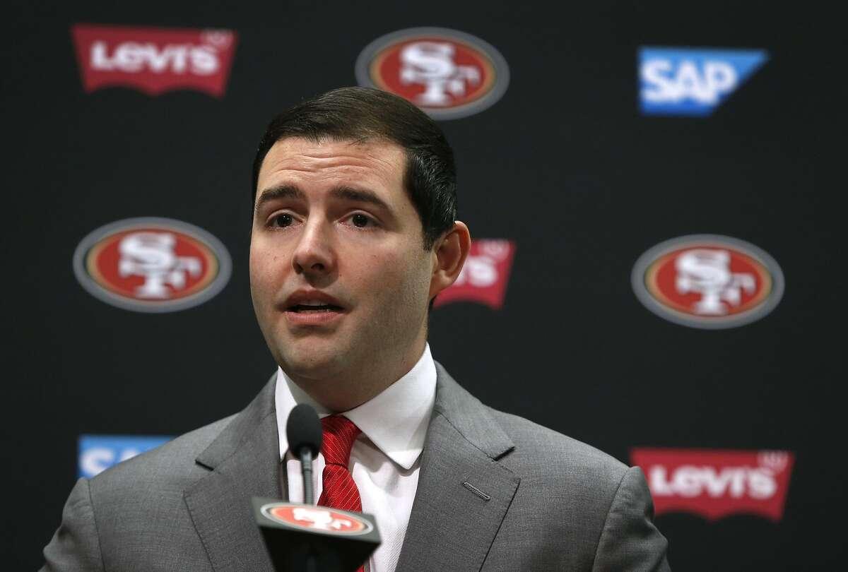 San Francisco 49ers CEO Jed York