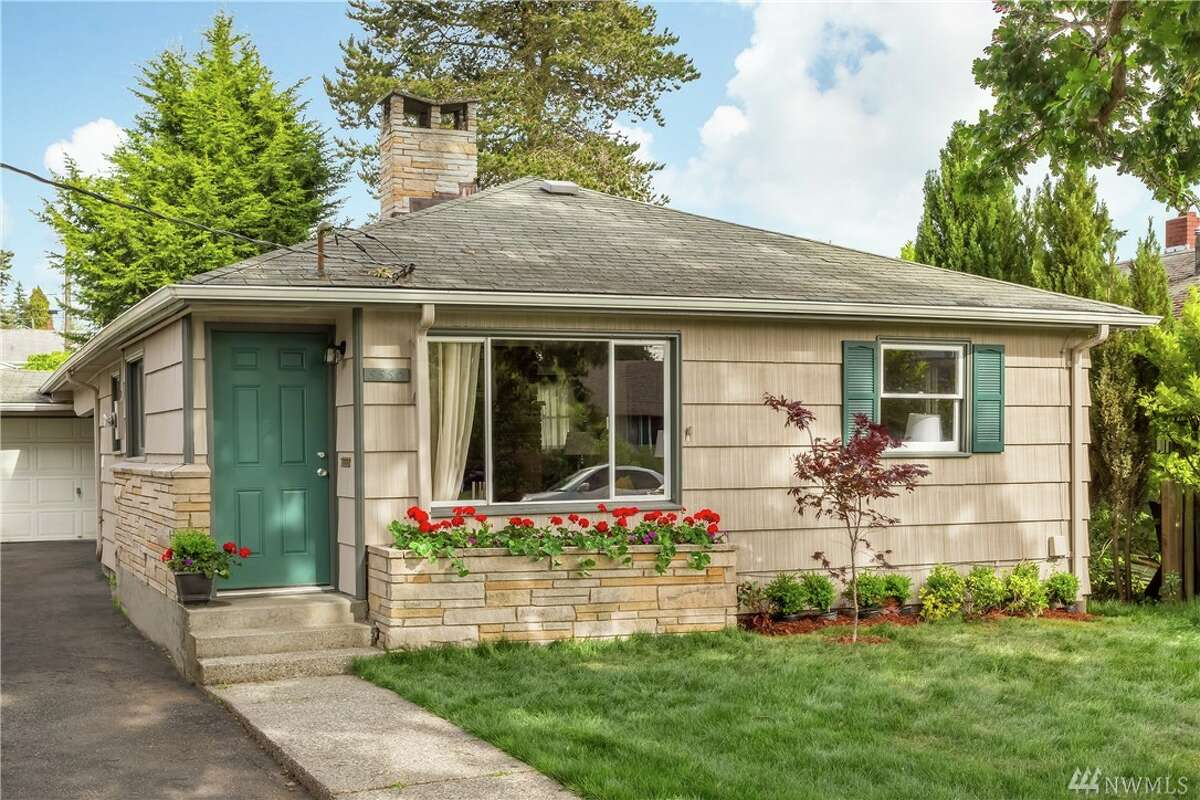 The first home, 5550 21st. Ave. S., is listed for $285,000. The two bedroom, one bathroom home is 940 square feet and has a one-car detached garage. It is close to Georgetown and downtown Seattle. You can see the full listing here.