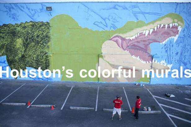 A tour of Houston's colorful murals.