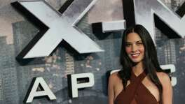 US actress Olivia Munn poses on arrival for the premiere of X-Men:Apocalypse in central London on May 9, 2016.  / AFP PHOTO / DANIEL LEAL-OLIVASDANIEL LEAL-OLIVAS/AFP/Getty Images