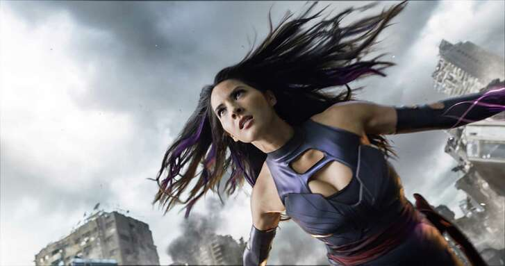 Psylocke (Olivia Munn) is a powerful telepath and trained ninja assassin. (Twentieth Century Fox)