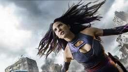 Psylocke (Olivia Munn) is a powerful telepath and trained ninja assassin. (Twentieth Century Fox)