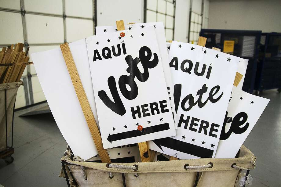 Early voting starts Tuesday, Oct. 13, 2020 Photo: Alma E. Hernandez, For The Express-News