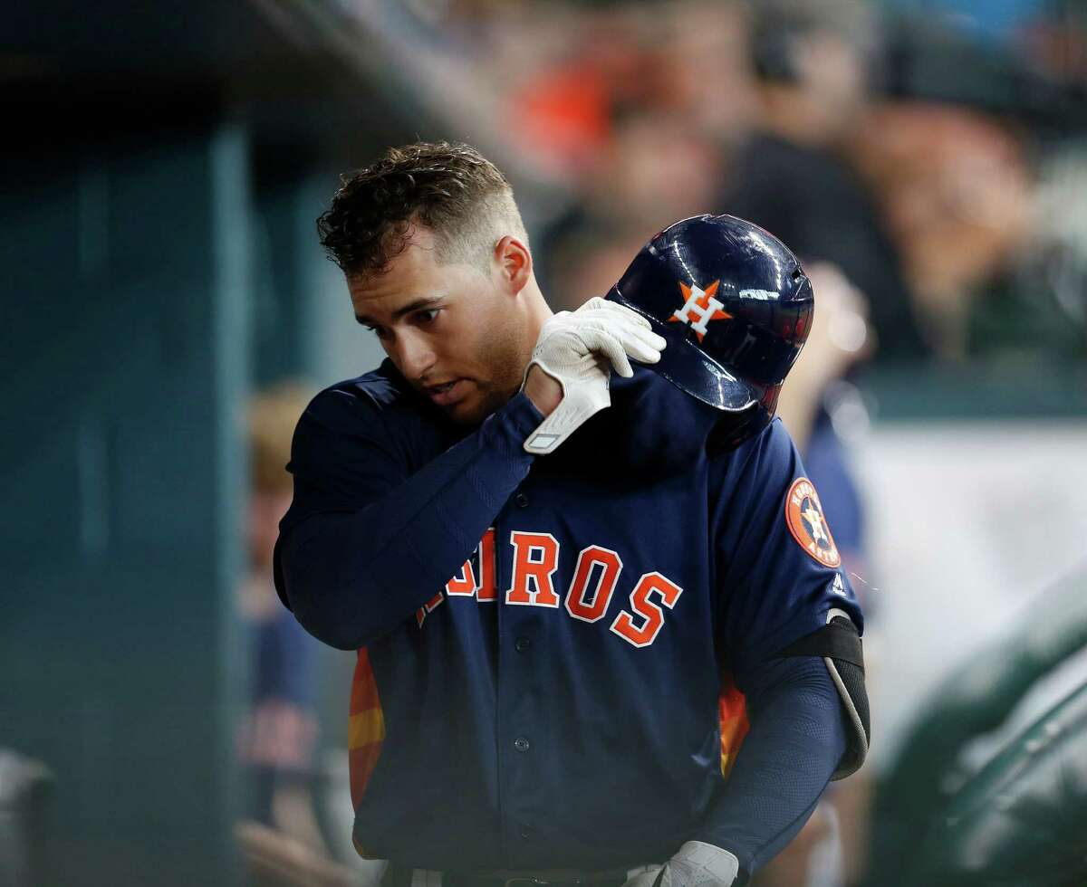 Because their lineup is so top-heavy, the Astros might ramp up their production if they lowered George Springer in the order.