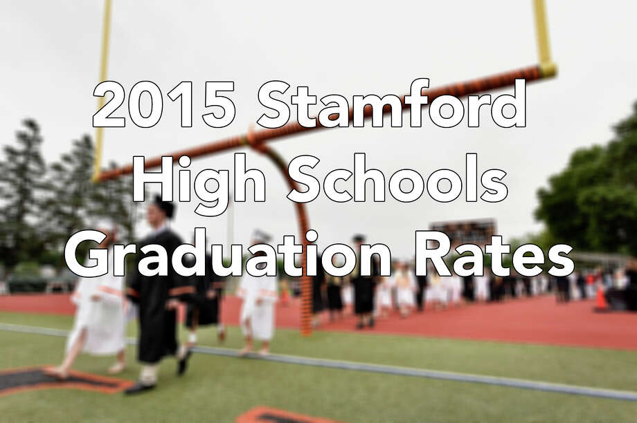 Here's a breakdown of the graduation rates for the class of 2015 in Stamford schools. / Stamford Advocate