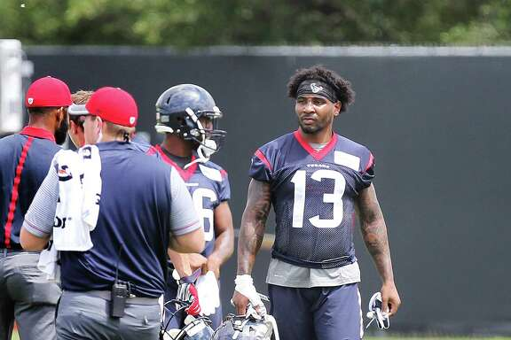 Third-round draft pick Braxton Miller (13) is trying to adjust to the rigors of pro football.