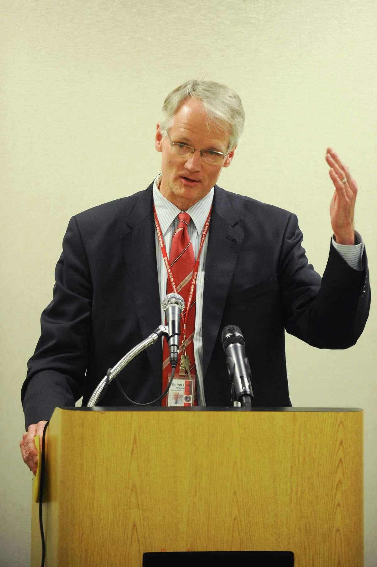 Superintendent of Schools William McKersie