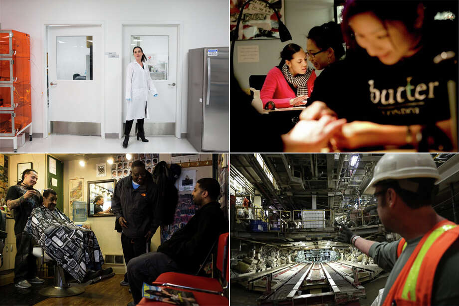 There's a good living to be made in and around Seattle. But not for everyone. We've ranked the Seattle metro area's occupations by average annual pay, and by the gap separating the highest 10 percent of earners in each job from the middle of the pack. Take a look.