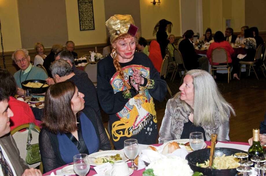 The Stamford Historical Society's Murder Mystery Gala on May 5, 2016.