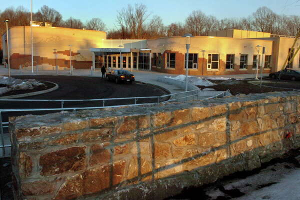 An exterior view of the new Discovery Magnet Elementary School which has been built next to the Discovery Museum along Park Avenue in Bridgeport, Conn. on Tuesday January 4, 2011.