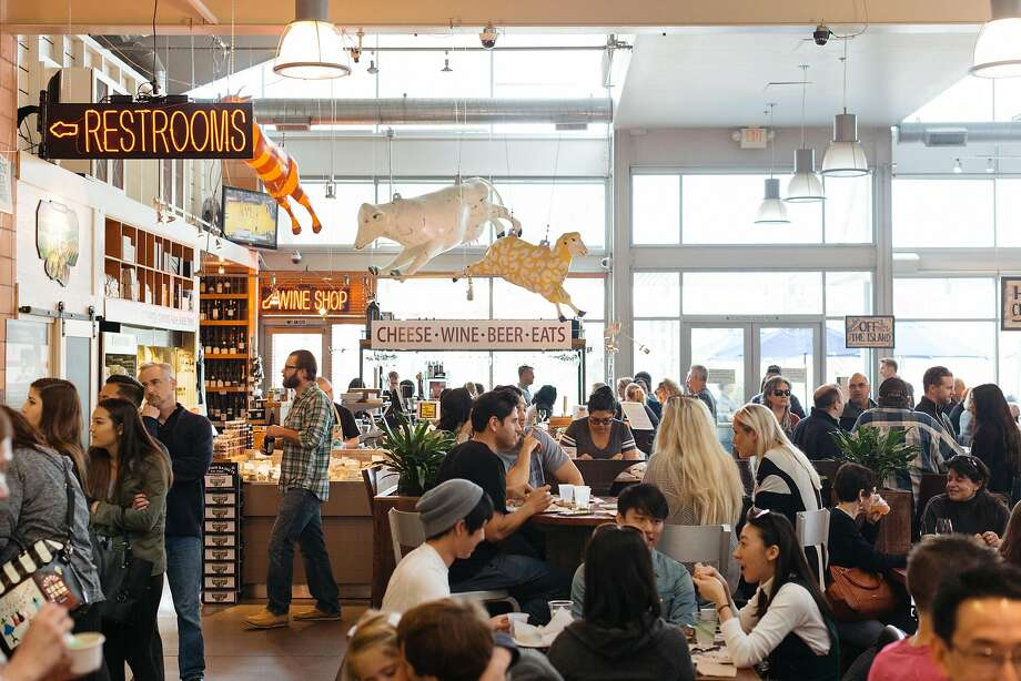 Oxbow Market is just a short walk from BottleRock. Photo: Jason Henry, Special To The Chronicle
