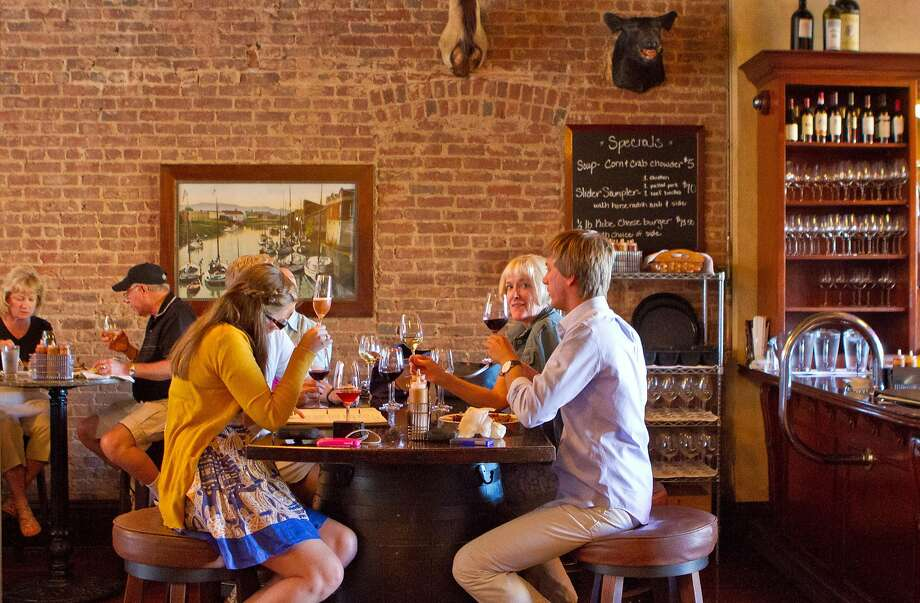 The Bounty Hunter in Napa has a relaxed vibe. Photo: John Storey, Special To The Chronicle