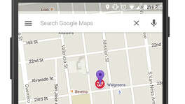 "This screen grab shows an ad called a ""promoted pin,"" which highlights a Walgreens along a route on Google Maps. Google has displayed text ads alongside its online maps for several years. But the change announced Tuesday marks the first time the Internet company has inserted the equivalent of a digital billboard into the directions map itself."