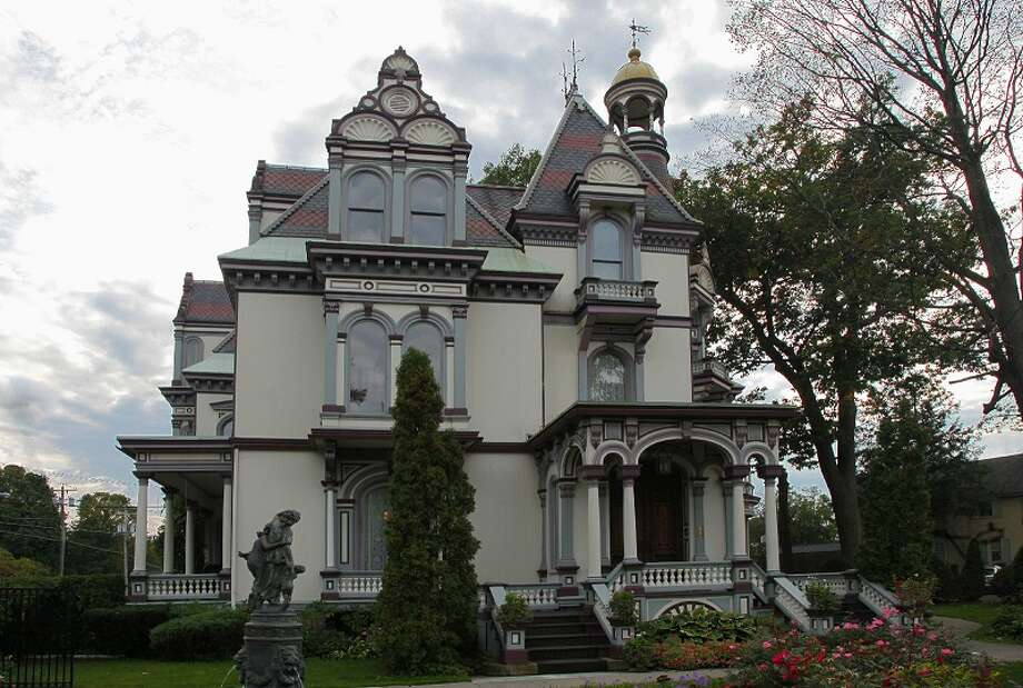 Batcheller Mansion Inn, 20 Circular Street, Saratoga Springs. Visit web site. Photo: Courtesy Of Reynolds Real Estate