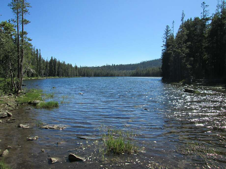 Haven Lake - The Forest Service opened the campground last week at Haven Lake located in the Lakes Basin Recreation Area. Photo: Tom Stienstra, Tom Stienstra / The Chronicle