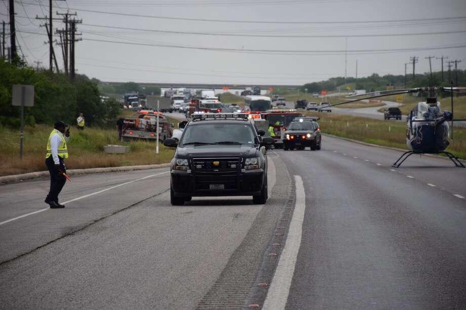 Highway 90 shut down at Loop 1604 after fatal crash - San ...