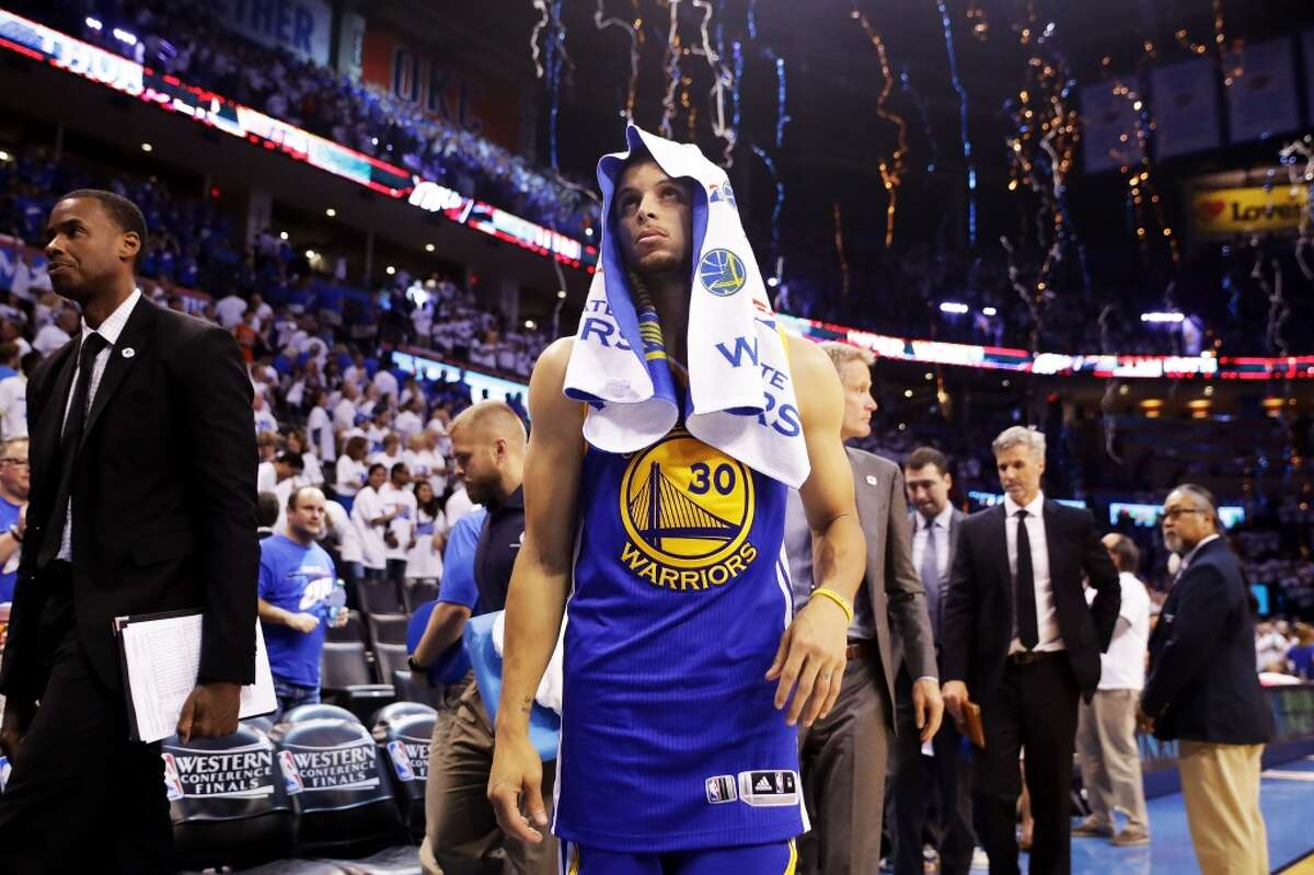 9. Curry can not get frustrated. The MVP provides a counterbalance to the intensity of Draymond Green, who plays frustrated. But without Curry's serenity, the Warriors can fall into the deep end of the pool and not find their way out.