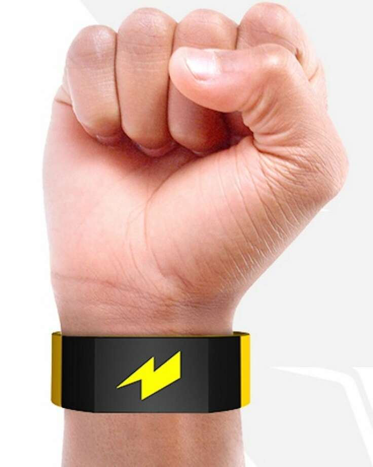The new Pavlok wearable, a wristwatch that shocks you when you're about to engage in a bad habit. Photo: Pavlok