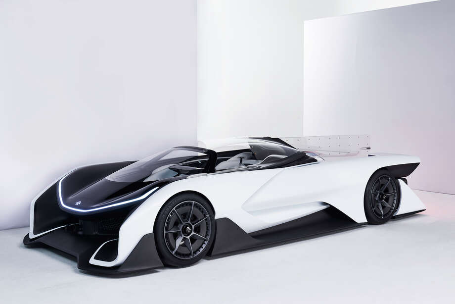 Faraday Future's FFZERO1 Concept Car. Photo: Faraday Futre