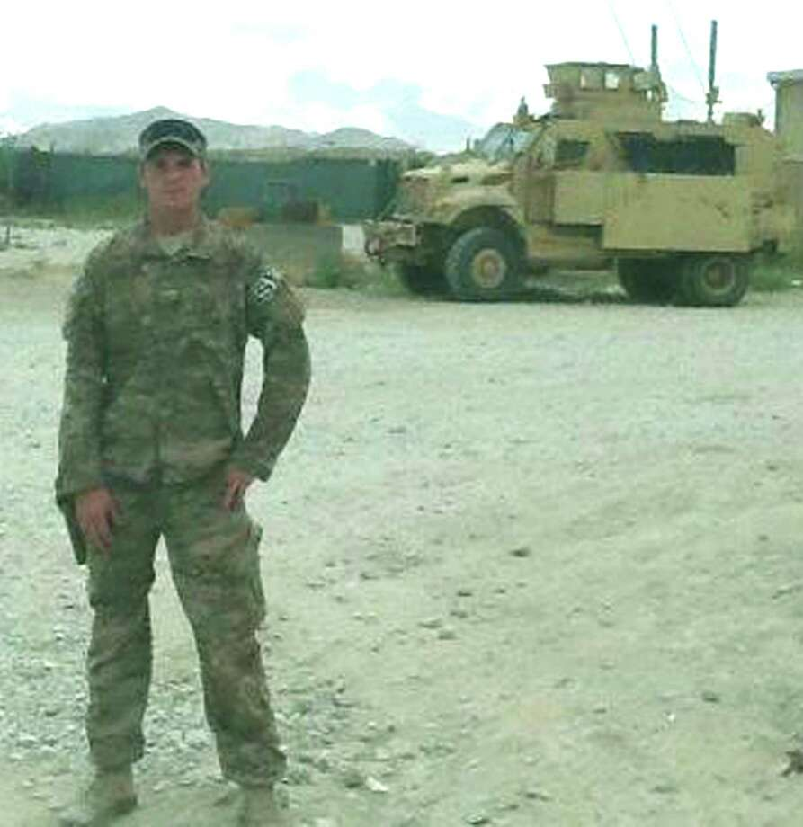 """Todd James """"T.J."""" Lobraico, 22, of New Fairfield, was killed in September, 2013, in Afghanistan. He was the son of Sherman resident and New Milford High School graduate Todd Lobraico, a Stamford police officer and Air Force veteran. Photo: Contributed Photo / The News-Times Contributed"""