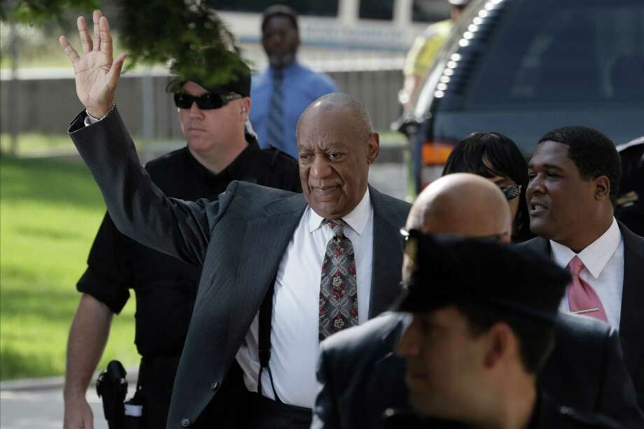Bill Cosby thanked Judge Elizabeth McHugh on Tuesday in Norristown, Pa., after she ruled he would have to stand trial on charges he sexually assaulted Andrea Constand in 2005. Photo: Matt Slocum, STF / Copyright 2016 The Associated Press. All rights reserved. This material may not be published, broadcast, rewritten or redistribu
