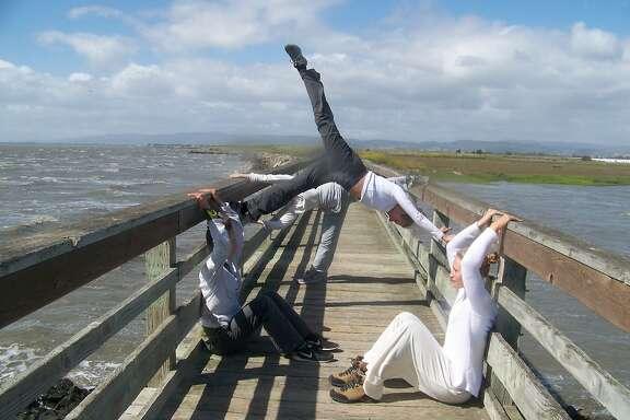 "Nina Haft &ompany premiere ""KingTide: Shoreline"" this weekend, along the Hayward shore."