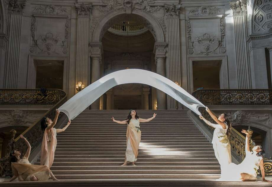 Mary Sano and her Duncan Dancers will be in the Dionysian Festival. Photo: Steven Gregory